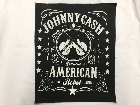 Parche Espaldera johnny Cash